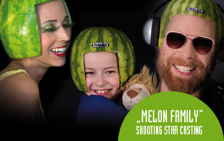 Melon Family Shooting Star Casting#
