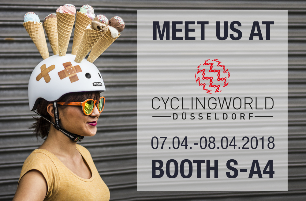 Teaser Cyclingworld Düsseldorf 2018 Melon Helmets Urban Active